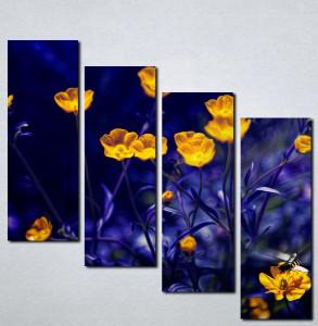 Slike na platnu Prelep žuti cvet Nina003 _4