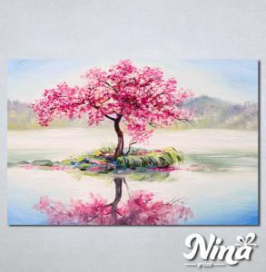 Slike na platnu Roze drvo Nina336_P