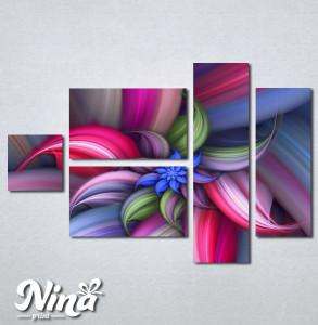 Slike na platnu Šarena apstrakcija Nina251_5