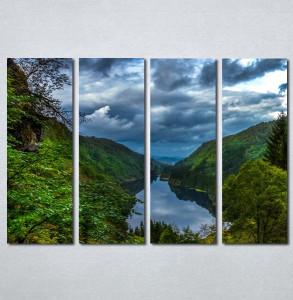 Slike na platnu Šuma i reka Nina30118_4