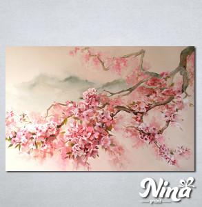 Slike na platnu Tresnjin cvet apstrakcija Nina344_P