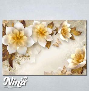 Slike na platnu Ukrasni cvet Nina271_P