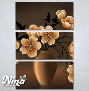 Slike na platnu Vaza i cveće Nina291_3