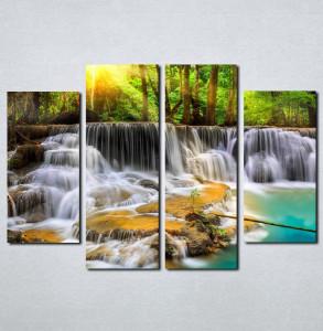 Slike na platnu Vodopad Nina071_4