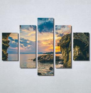 Slike na platnu Zalazak sunca i stene Nina30201_5