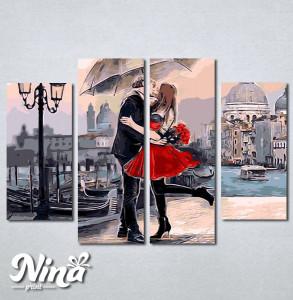Slike na platnu Zaljubljeni par Nina246_4