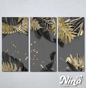 Slike na platnu Zlatna paprat Nina313_3