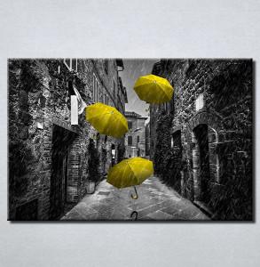 Slike na platnu Žuti kisobrani Nina210_P