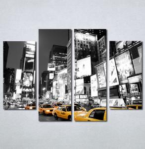 Slike na platnu Zuti taxi Nina134_4