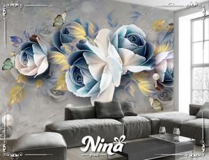 Foto tapet Elegantne pastelne ruže Tapet280