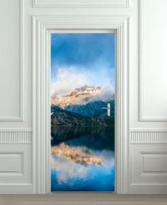 Nalepnica za vrata Planina i jezero 6103