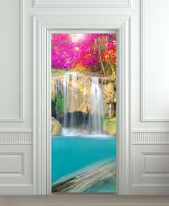 Nalepnica za vrata Vodopad 6137