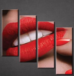 Slika na platnu Crvene usne Nina3032_4