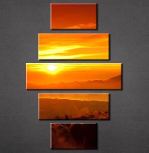 Slika na platnu Zalazak sunca Nina3077_5