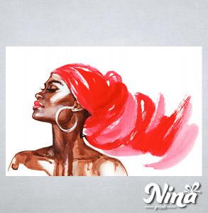 Slike na platnu Afrička devojka Nina309_P