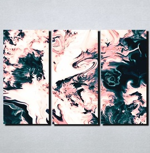 Slike na platnu Apstrakcija pastelne boje Nina168_3