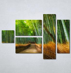 Slike na platnu Bambus Nina215_5