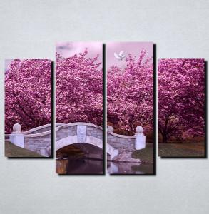 Slike na platnu Boje jorgovana Nina108_4