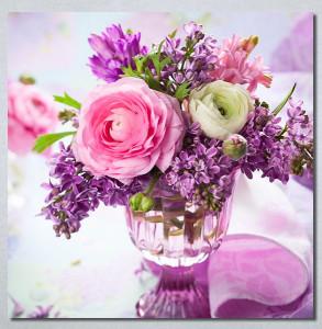 Slike na platnu Buket cveća Nina30248