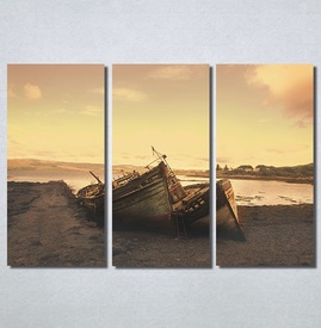 Slike na platnu Čamac na obali Nina30192_3