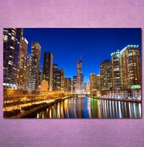 Slike na platnu Chicago Nina3095_P