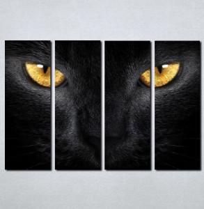 Slike na platnu Crna mačka Nina030_4