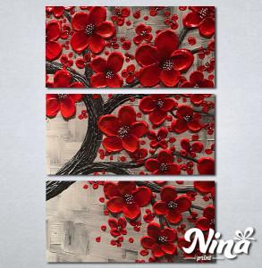 Slike na platnu Crveno drvo Nina263_3