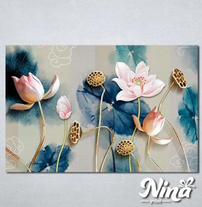 Slike na platnu Cvetna bajka Nina331_P