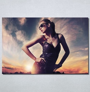 Slike na platnu Fashion girl Nina30147_P
