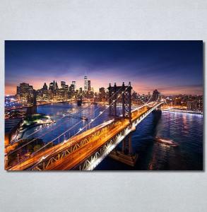 Slike na platnu Grad i most Nina30303_P