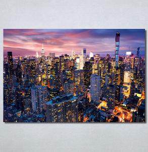 Slike na platnu Gradovi nocu Nina30315_P