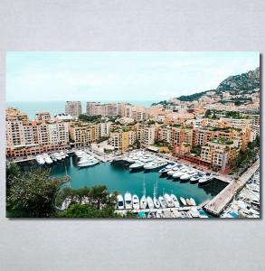 Slike na platnu Gradska luka Nina30322_P