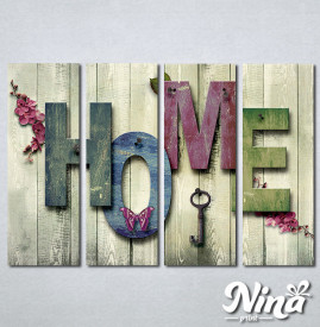 Slike na platnu Home Nina269_4