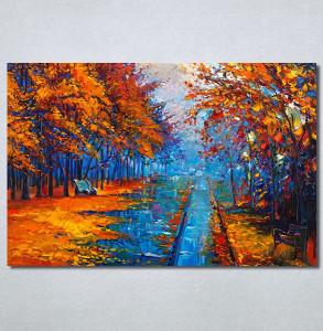 Slike na platnu Jesen u parku Art Nina30324_P
