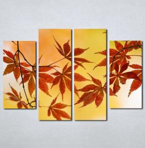 Slike na platnu Jesenji list Nina005_4