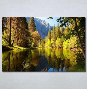 Slike na platnu Jezero Nina30377_P