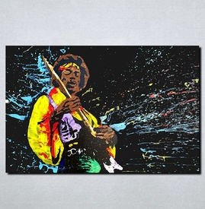 Slike na platnu Jimi Hendrix Nina107_P