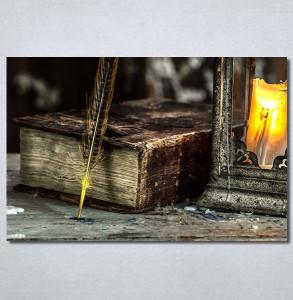 Slike na platnu Knjiga i pero Nina30326_P