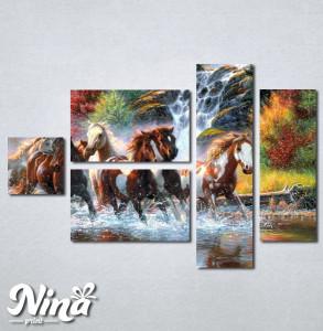 Slike na platnu Konji art Nina249_5