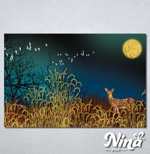 Slike na platnu Lane u šumi Nina301_P