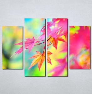 Slike na platnu Lišće u boji Nina061_4