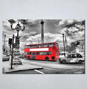 Slike na platnu London crveni autobus Nina 136_P