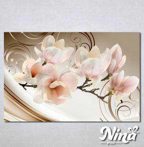 Slike na platnu Magnolija apstrakcija Nina335_P