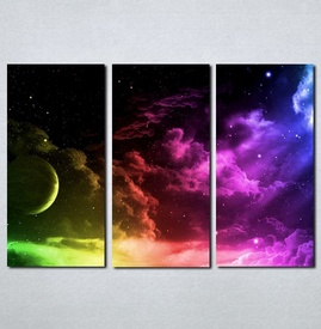 Slike na platnu Mesec i nebo Nina019_3