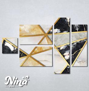 Slike na platnu Moderan mermer Nina287_5