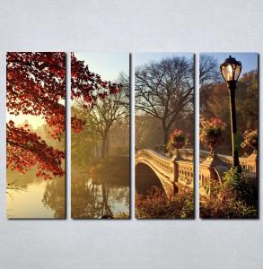 Slike na platnu Most i priroda Nina063_4