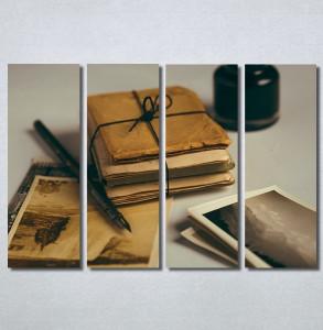 Slike na platnu Naliv pero i pisma Nina30278_4