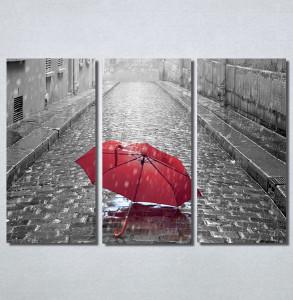 Slike na platnu Pariz i crveni kisobran Nina30145_3
