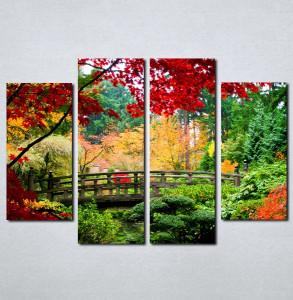 Slike na platnu Park u bojama Nina044_4