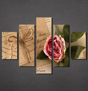 Slike na platnu Pismo i ruža Nina30133_5